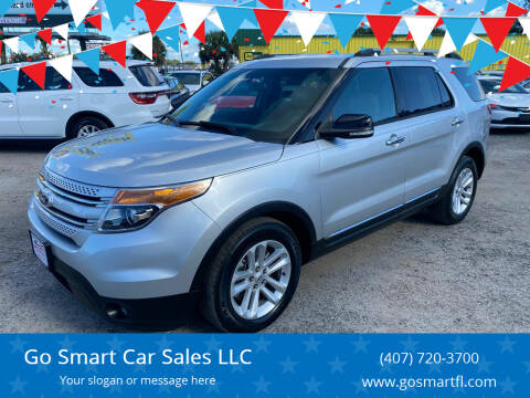 2013 Ford Explorer for sale at Go Smart Car Sales LLC in Winter Garden FL