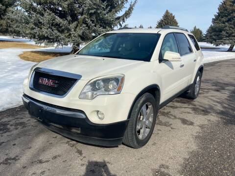 2011 GMC Acadia for sale at BELOW BOOK AUTO SALES in Idaho Falls ID