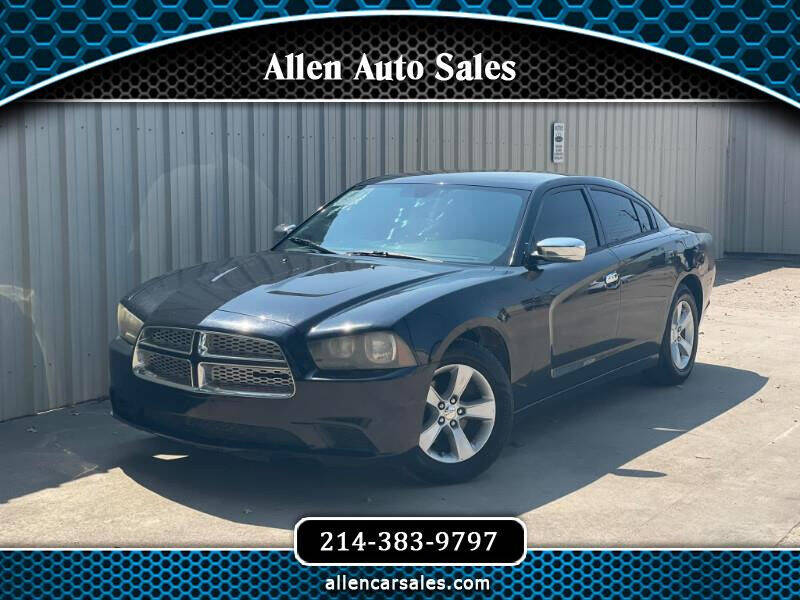 2013 Dodge Charger for sale at Allen Auto Sales in Dallas TX