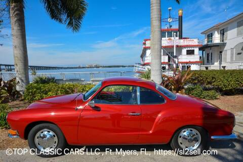 1968 Volkswagen Karmann Ghia for sale at Top Classic Cars LLC in Fort Myers FL