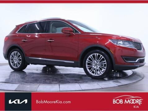 2016 Lincoln MKX for sale at Bob Moore Kia in Oklahoma City OK
