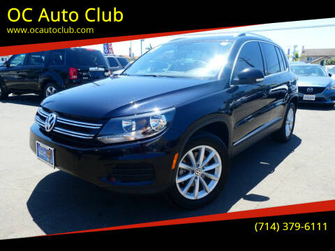 2017 Volkswagen Tiguan for sale at OC Auto Club in Midway City CA