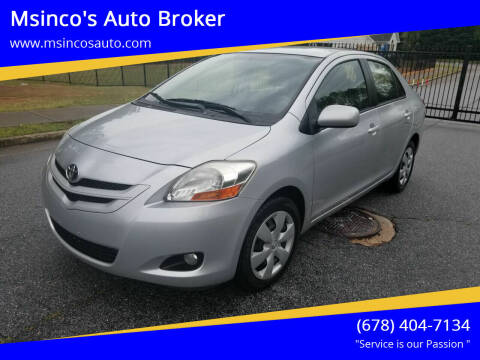 2007 Toyota Yaris for sale at Msinco's Auto Broker in Snellville GA