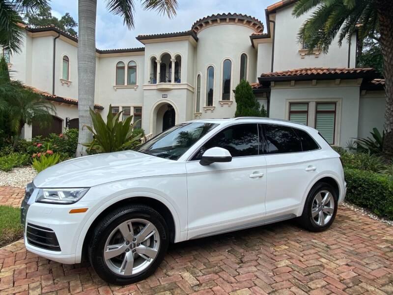 2018 Audi Q5 for sale at Mirabella Motors in Tampa FL