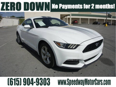 2017 Ford Mustang for sale at Speedway Motors in Murfreesboro TN