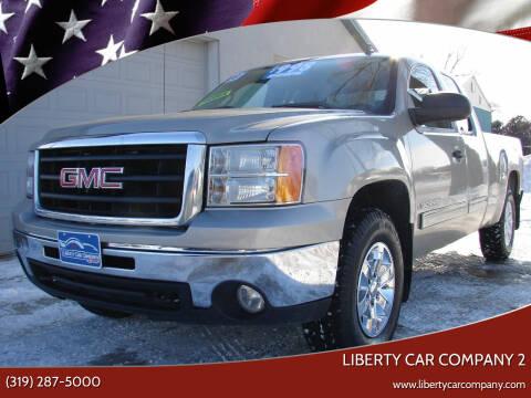 2009 GMC Sierra 1500 for sale at Liberty Car Company - II in Waterloo IA