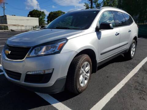 2017 Chevrolet Traverse for sale at Eden Cars Inc in Hollywood FL