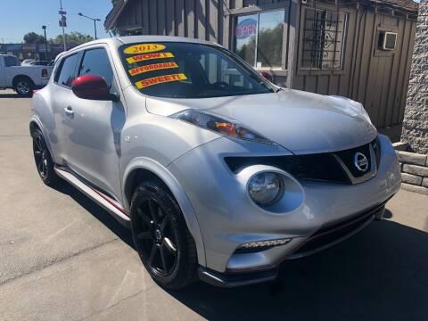 2013 Nissan JUKE for sale at Devine Auto Sales in Modesto CA