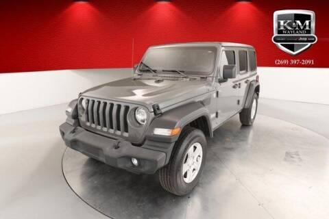 2019 Jeep Wrangler Unlimited for sale at K&M Wayland Chrysler  Dodge Jeep Ram in Wayland MI