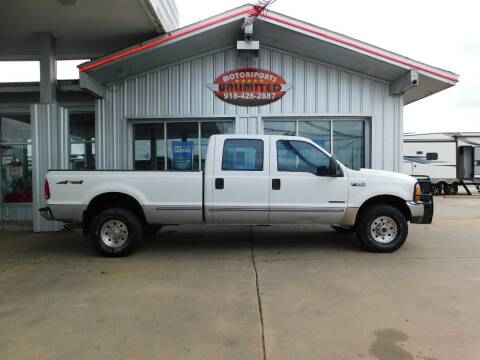 1999 Ford F-250 Super Duty for sale at Motorsports Unlimited in McAlester OK
