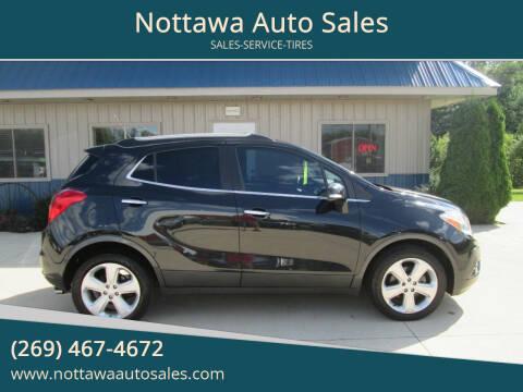 2015 Buick Encore for sale at Nottawa Auto Sales in Nottawa MI