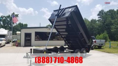 2021 US BUILT 7' X 14' X 4' Bumper Pull 14K for sale at Montgomery Trailer Sales - U.S. Built in Conroe TX