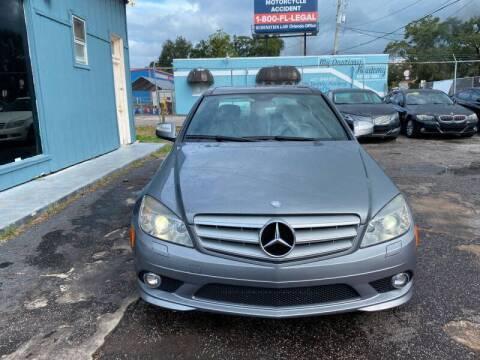 2008 Mercedes-Benz C-Class for sale at CAR VIPS ORLANDO LLC in Orlando FL