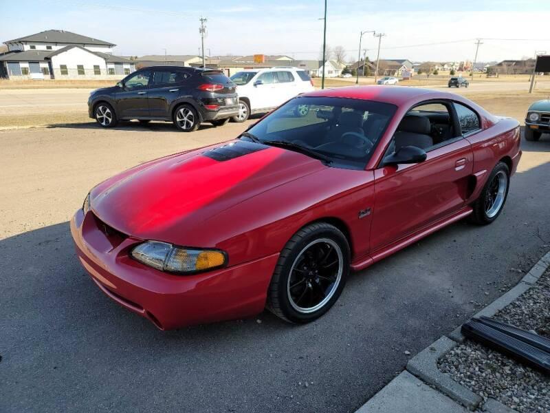 1995 Ford Mustang for sale at CRUZ'N MOTORS - Classics in Spirit Lake IA