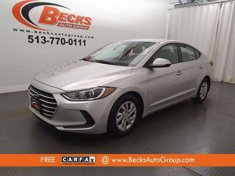 2018 Hyundai Elantra for sale at Becks Auto Group in Mason OH