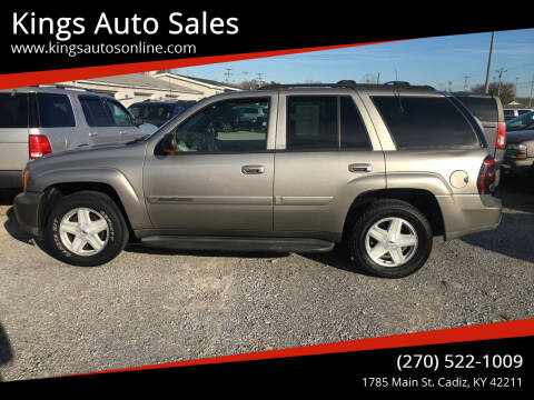 2003 Chevrolet TrailBlazer for sale at Kings Auto Sales in Cadiz KY