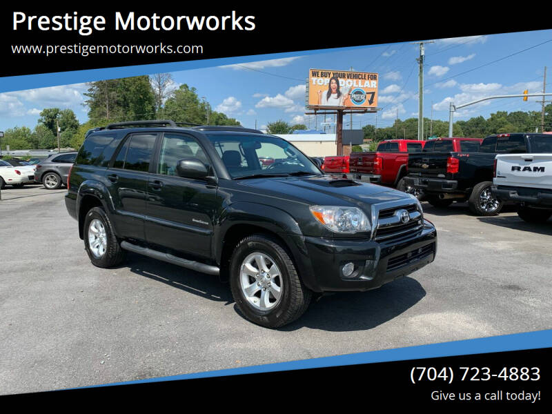 2006 Toyota 4Runner for sale at Prestige Motorworks in Concord NC