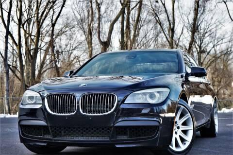 2012 BMW 7 Series for sale at Speedy Automotive in Philadelphia PA