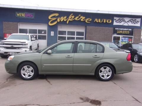 2006 Chevrolet Malibu for sale at Empire Auto Sales in Sioux Falls SD