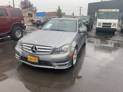 2012 Mercedes-Benz C-Class for sale at ALASKA PROFESSIONAL AUTO in Anchorage AK