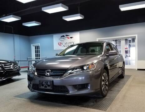 2015 Honda Accord Hybrid for sale at Quality Autos in Marietta GA