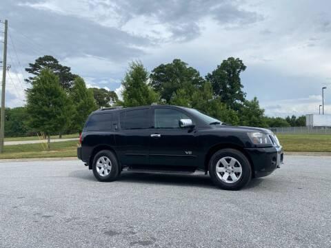 2005 Nissan Armada for sale at GTO United Auto Sales LLC in Lawrenceville GA