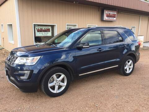 2017 Ford Explorer for sale at Palmer Welcome Auto in New Prague MN