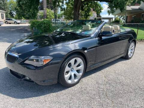 2007 BMW 6 Series for sale at On The Circuit Cars & Trucks in York PA