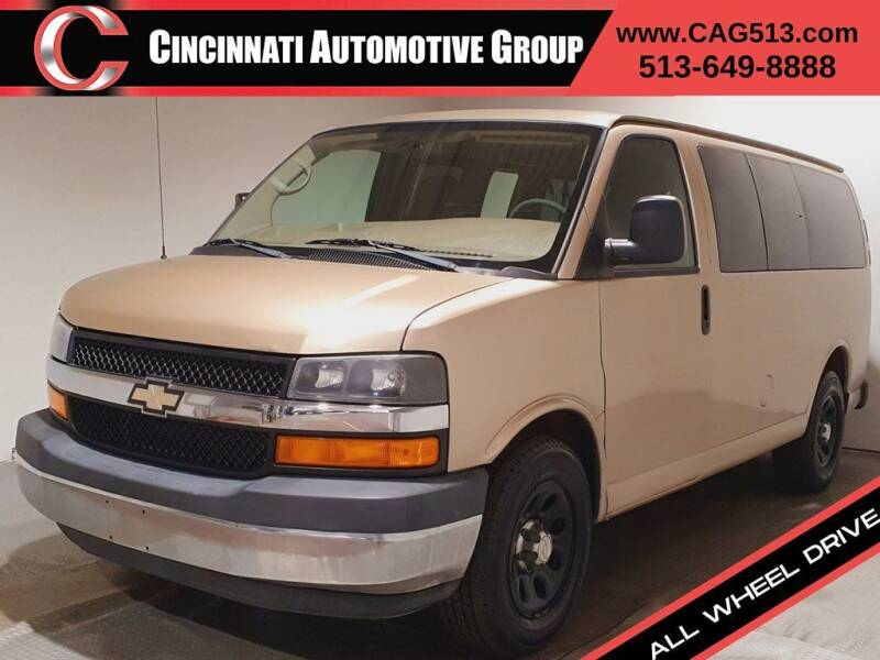 2009 Chevrolet Express Passenger for sale at Cincinnati Automotive Group in Lebanon OH