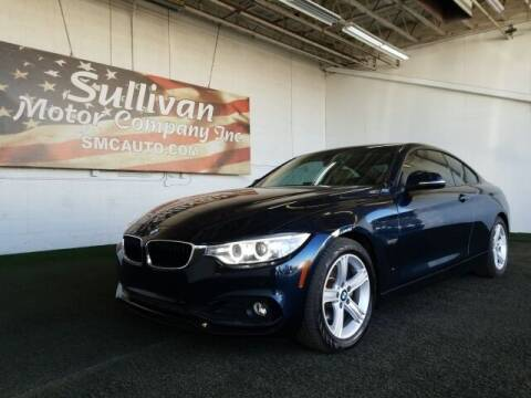 2015 BMW 4 Series for sale at SULLIVAN MOTOR COMPANY INC. in Mesa AZ