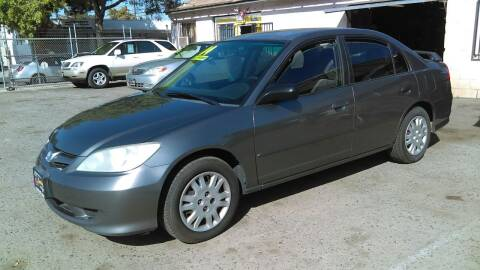 2004 Honda Civic for sale at Larry's Auto Sales Inc. in Fresno CA