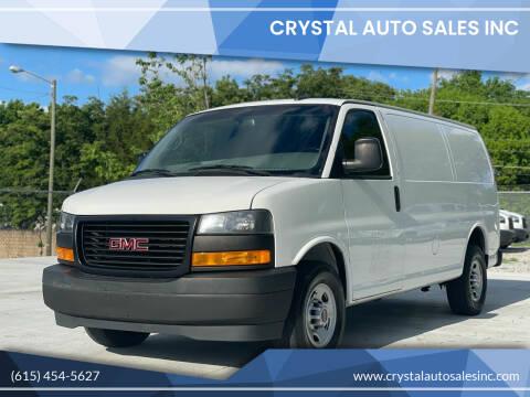 2018 GMC Savana Cargo for sale at Crystal Auto Sales Inc in Nashville TN