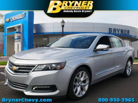 2018 Chevrolet Impala for sale at BRYNER CHEVROLET in Jenkintown PA