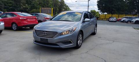 2015 Hyundai Sonata for sale at DADA AUTO INC in Monroe NC