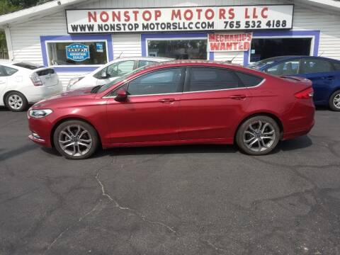 2017 Ford Fusion for sale at Nonstop Motors in Indianapolis IN