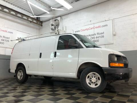 2013 Chevrolet Express Cargo for sale at County Car Credit in Cleveland OH