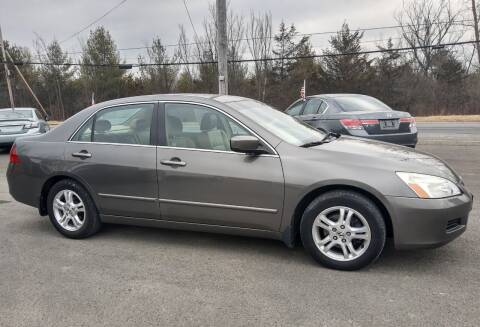 2006 Honda Accord for sale at GREENPORT AUTO in Hudson NY