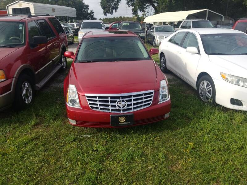 2009 Cadillac DTS for sale at Webb's Automotive Inc 11 in Morehead City NC