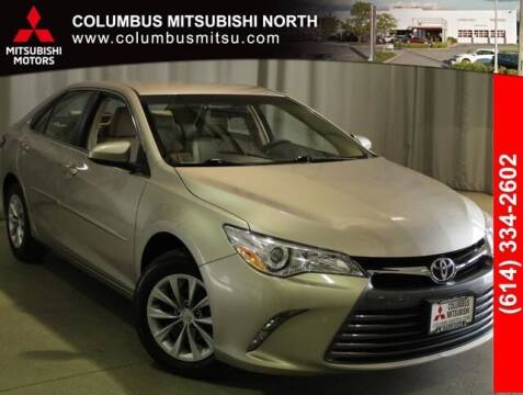 2017 Toyota Camry for sale at Auto Center of Columbus - Columbus Mitsubishi North in Columbus OH