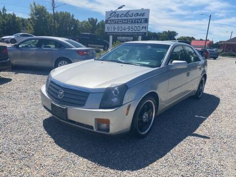 2004 Cadillac CTS for sale at Jackson Automotive in Smithfield NC