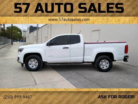 2016 Chevrolet Colorado for sale at 57 Auto Sales in San Antonio TX