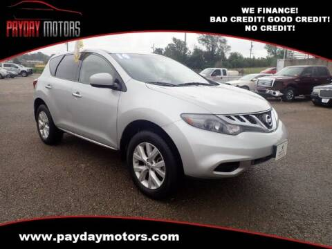 2014 Nissan Murano for sale at Payday Motors in Wichita KS