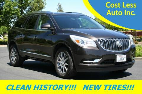 2014 Buick Enclave for sale at Cost Less Auto Inc. in Rocklin CA