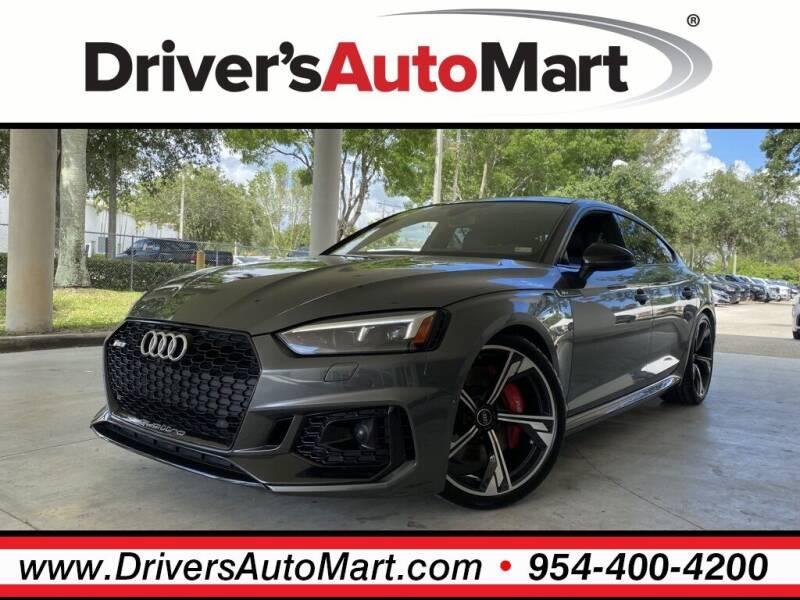 2019 Audi RS 5 Sportback for sale in Davie, FL