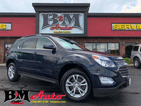 2017 Chevrolet Equinox for sale at B & M Auto Sales Inc. in Oak Forest IL