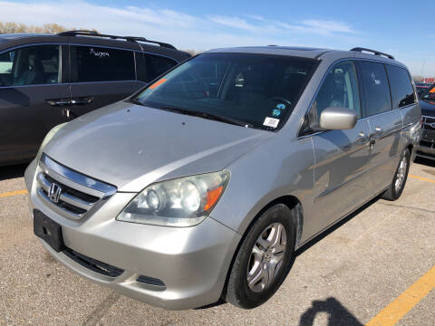 2007 Honda Odyssey for sale at Sonny Gerber Auto Sales in Omaha NE