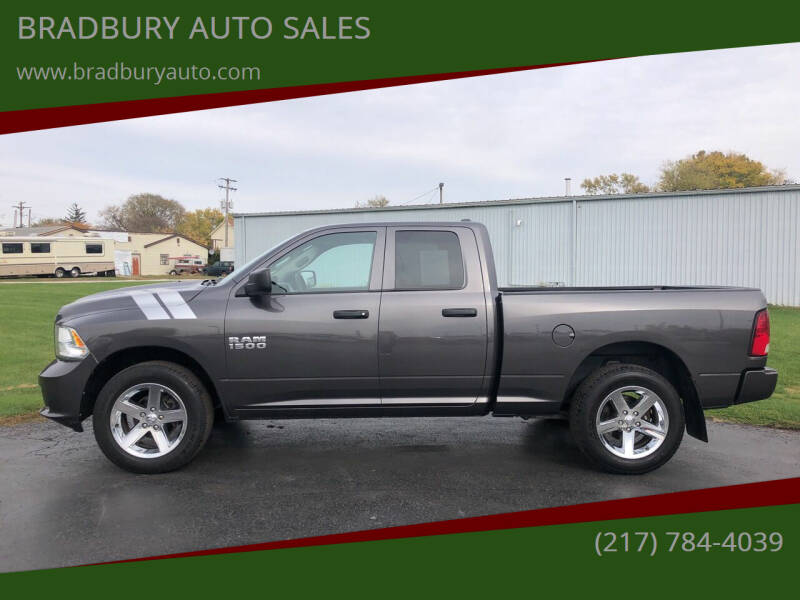 2015 RAM Ram Pickup 1500 for sale at BRADBURY AUTO SALES in Gibson City IL