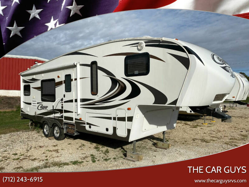 2014 Keystone Cougar 27 RKS for sale at The Car Guys in Atlantic IA