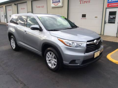 2015 Toyota Highlander for sale at TRI-STATE AUTO OUTLET CORP in Hokah MN