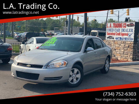 2008 Chevrolet Impala for sale at L.A. Trading Co. in Woodhaven MI